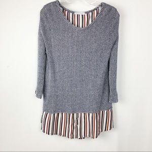 Honey Punch Layered sweater